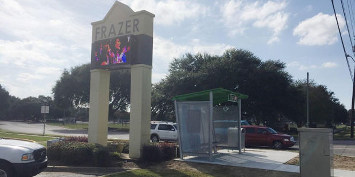 Frazer challenges other churches, businesses to build bus shelters