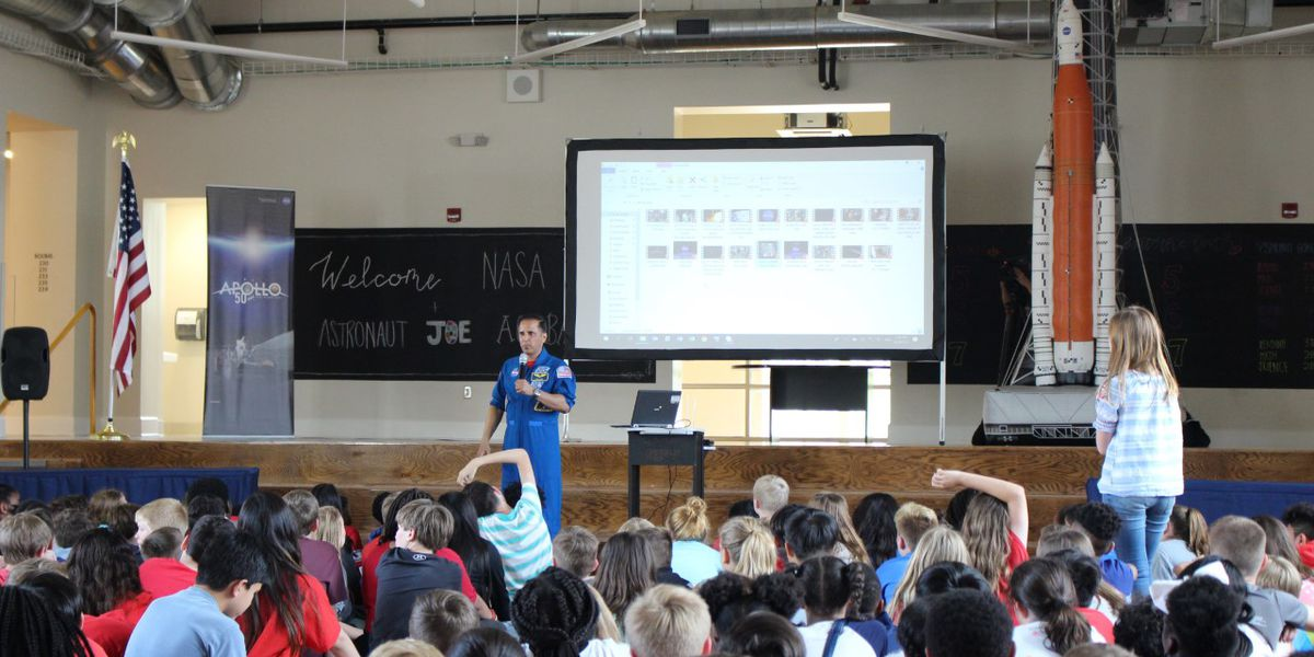 NASA rockets to Pike Road Middle School for NASA Day