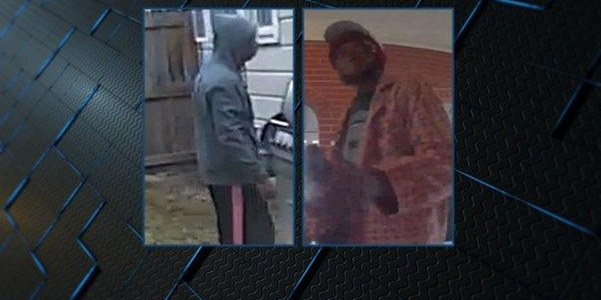 Montgomery burglary suspects captured on home surveillance cameras