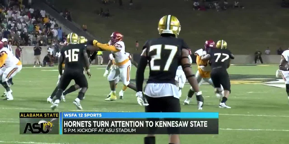 Alabama State getting ready for Kennesaw State