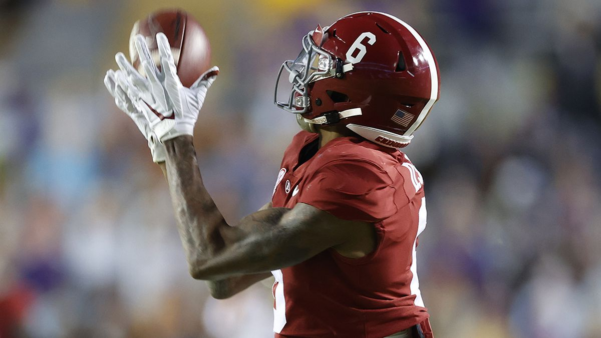 DeVonta Smith's record-breaking career comes full circle in national championship