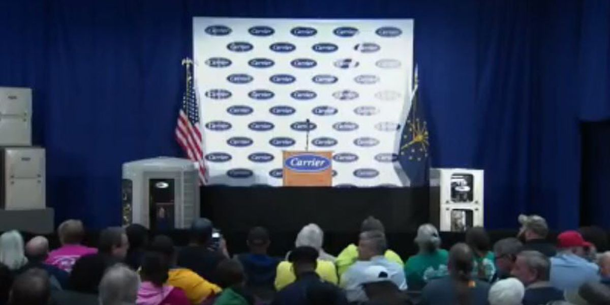 Watch Live: Donald Trump, Mike Pence speak from Indianapolis Carrier plant
