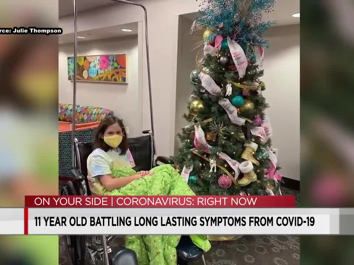 11-year-old Shelby County girl experiencing long hauler symptoms four months after COVID-19 diagnosis