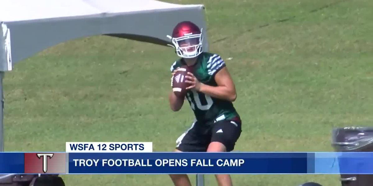 Troy football opens fall camp