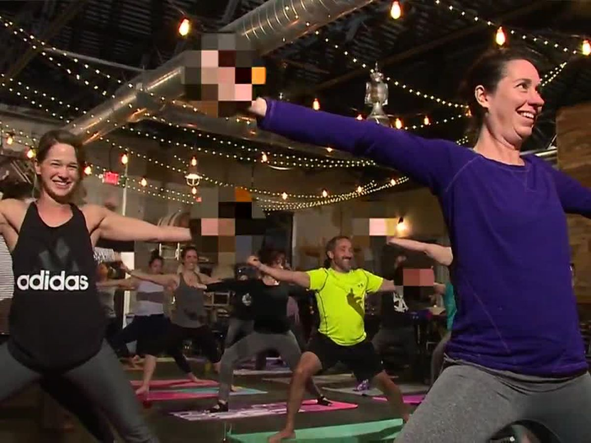 Rage yoga lets participants yell, cuss and point their middle fingers