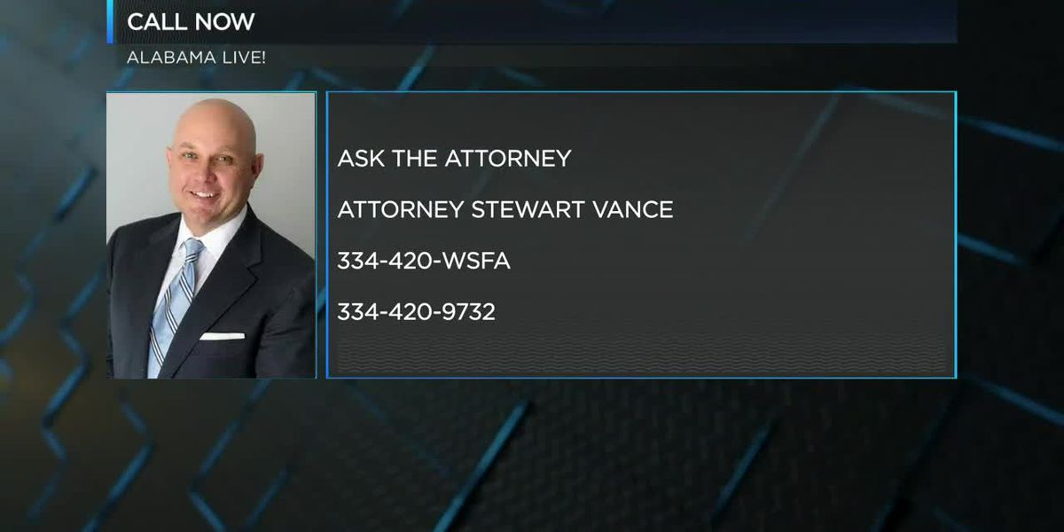 Ask the Attorney with Stewart Vance pt. 2