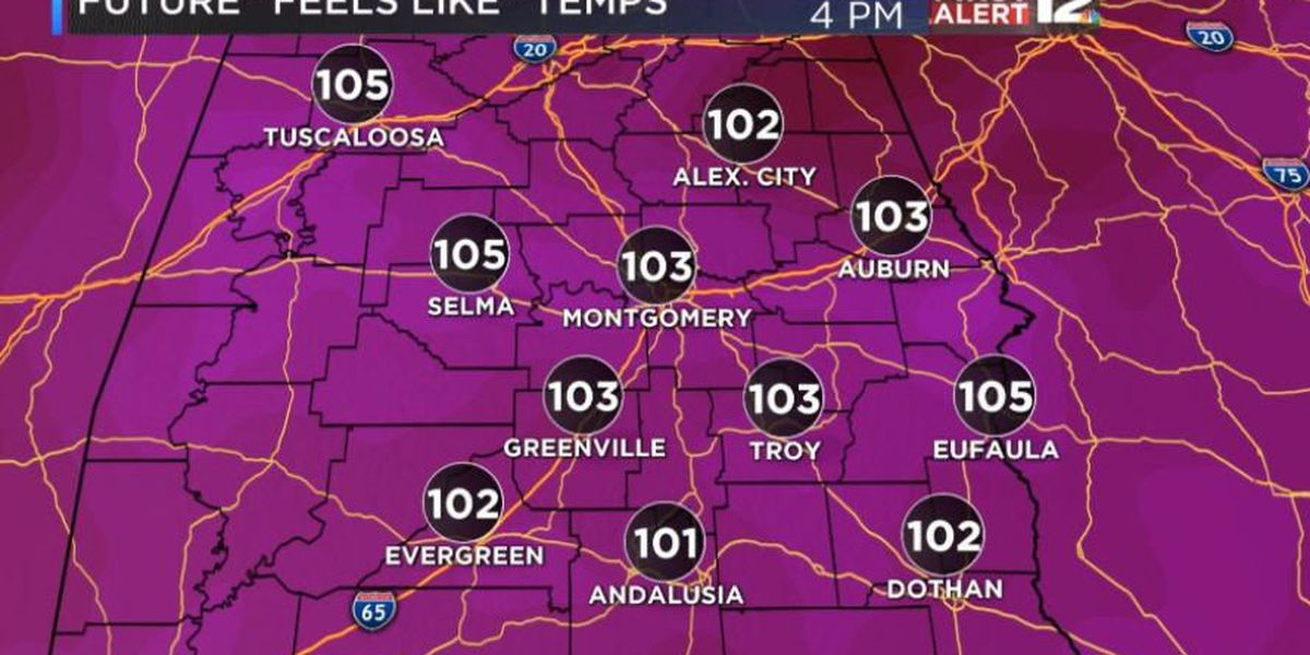 FIRST ALERT: Heat advisory issued for central Alabama