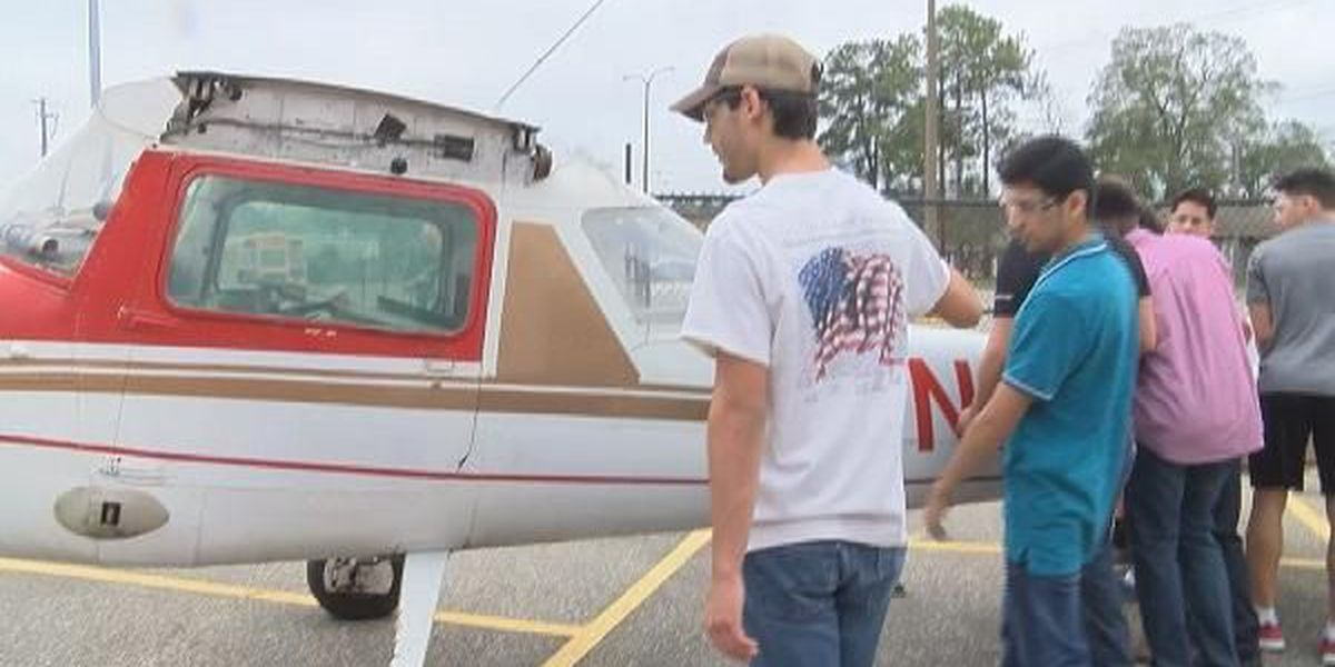 On-campus aircraft gives Houston County Career Academy an edge