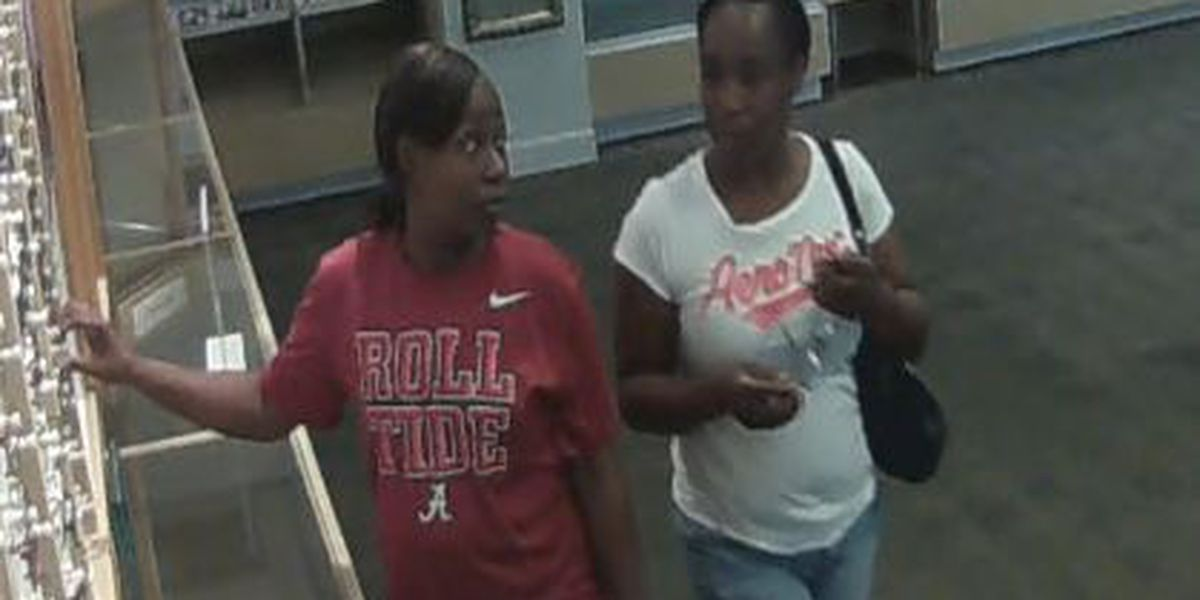2 women sought after shoplifting caught on camera