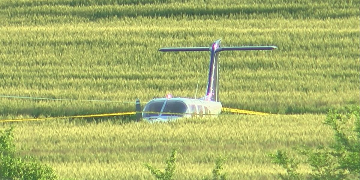 Small plane crashes near Madison County Executive Airport; no injuries