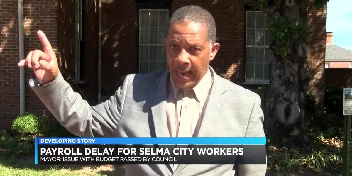 Selma delaying pay to city workers