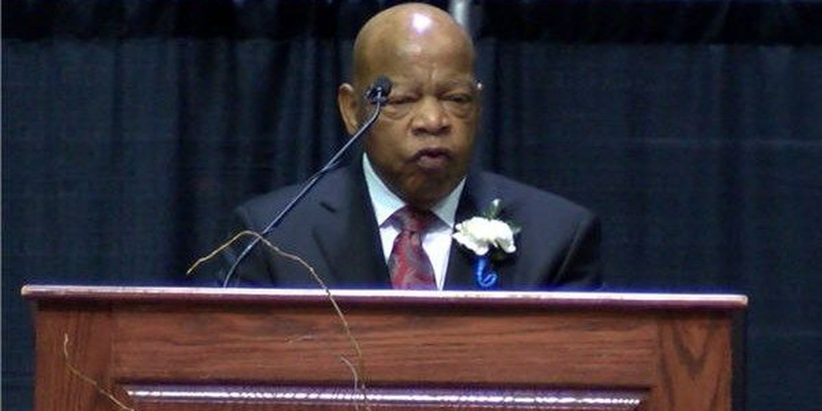 Former Civil Rights activist John Lewis to be honored Saturday in Troy