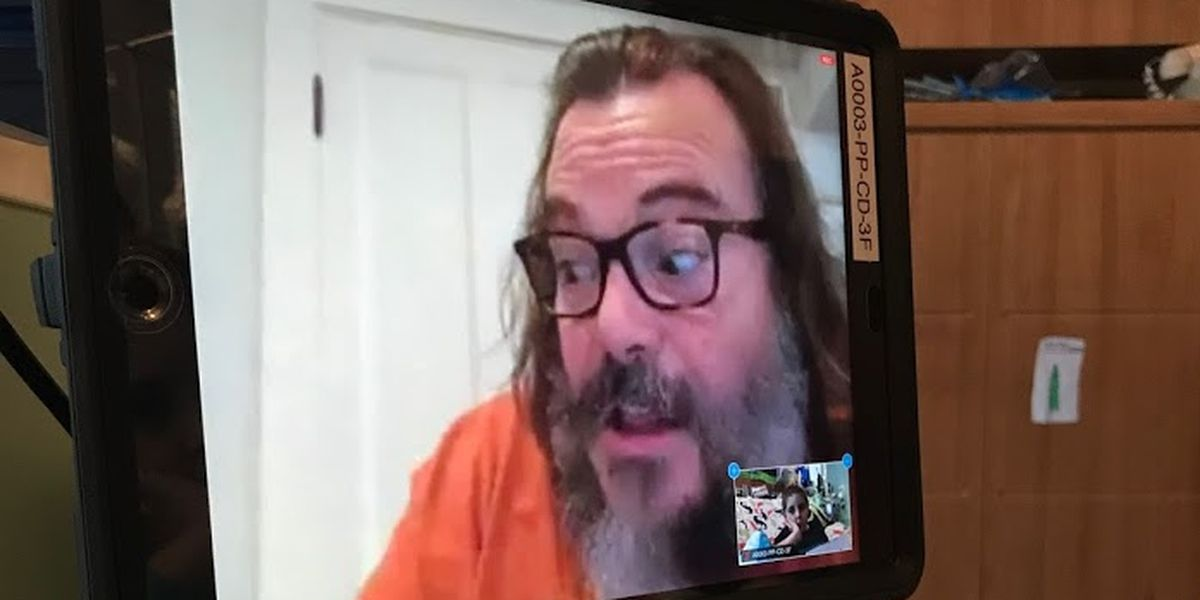 Actor Jack Black virtually visits Children's of Alabama patients
