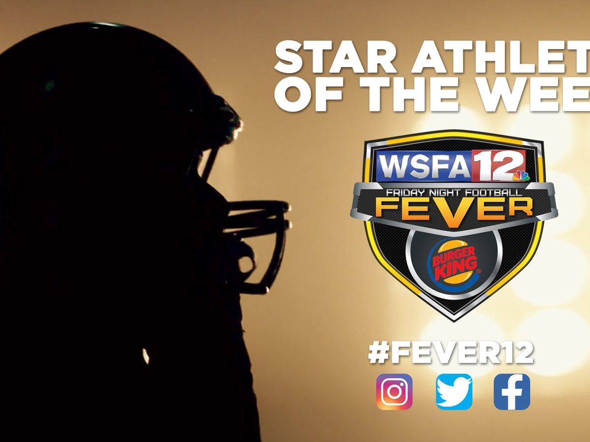 Bullock County's Kenny Owens wins Fever Star Athlete of the Week