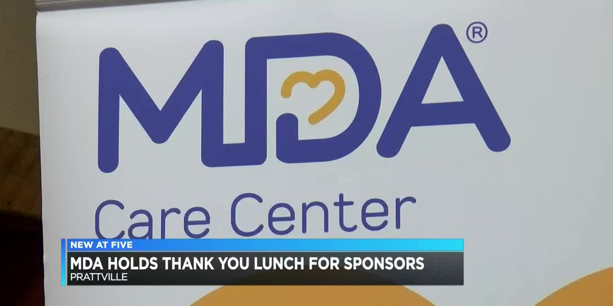 Muscular Dystrophy Association holds thank you lunch for sponsors