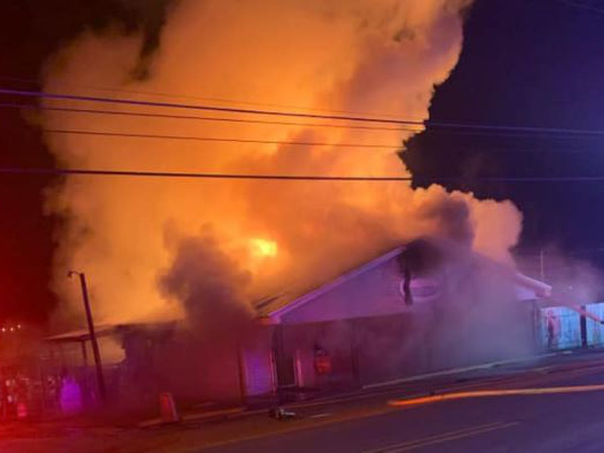 Rainbow City marina destroyed in early-morning fire