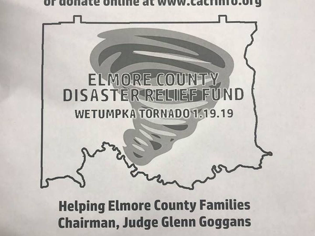 Elmore Co. Disaster Relief Fund accepting donations to assist tornado victims