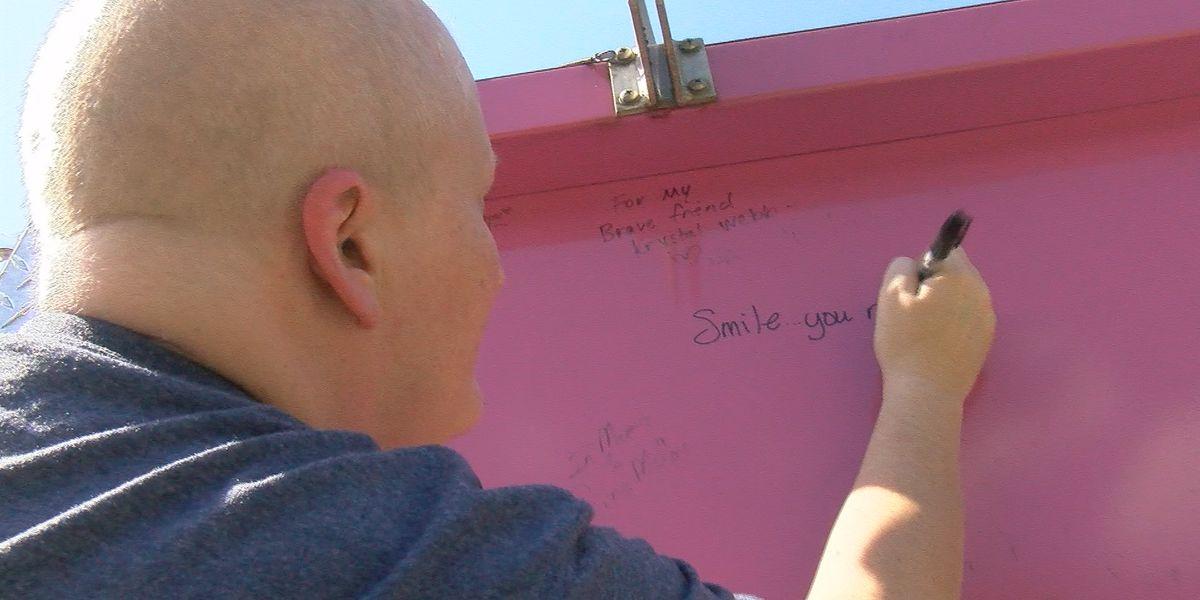 Decatur 911 operator battling breast cancer gets big surprise