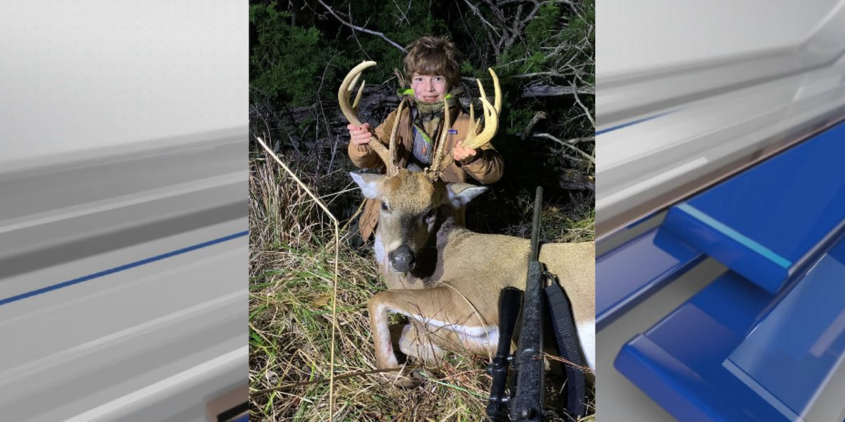 Montgomery child's first deer wins photo contest