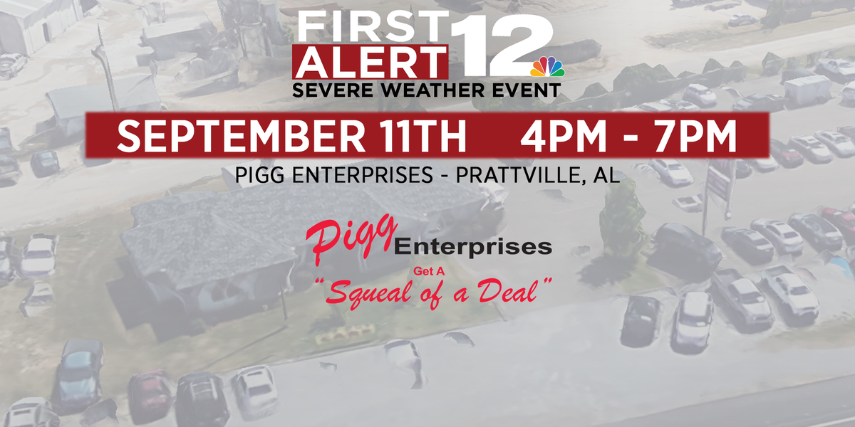 WSFA 12 News hosting severe weather event in Prattville