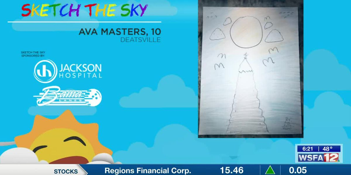 Sketch the Sky winner: Ava Masters