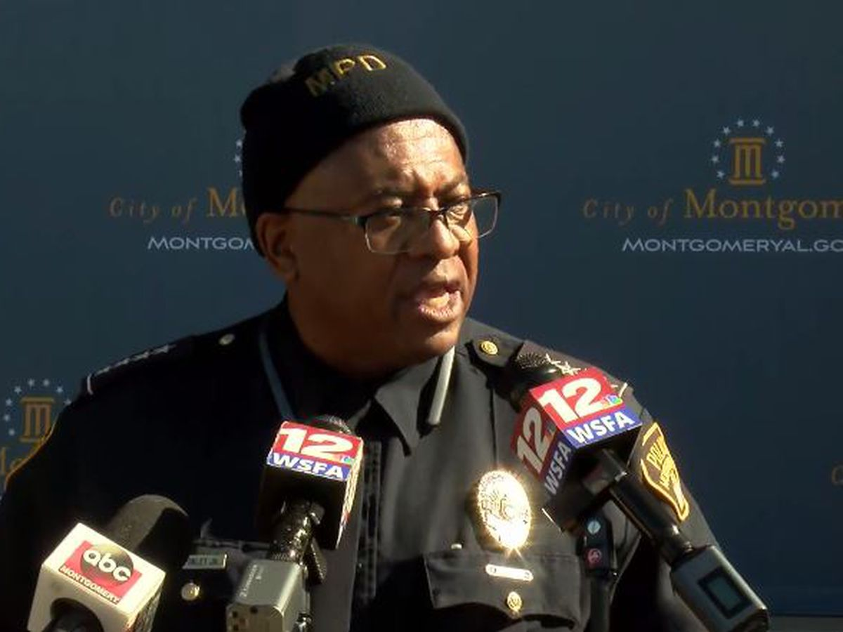 'We're going to put your ass in jail': Police chief addresses crime in Montgomery, new initiative