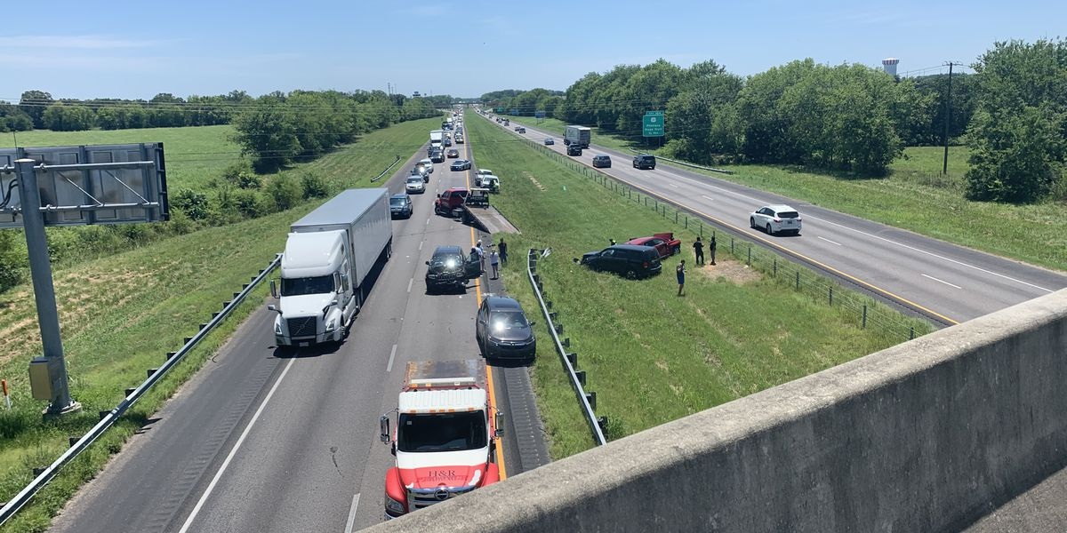 Crash cleared near US 31 on I-65 in Montgomery County