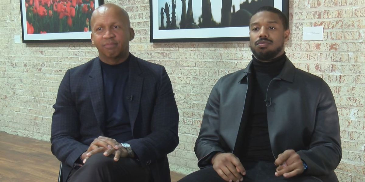 Bryan Stevenson, Michael B. Jordan talk upcoming movie 'Just Mercy'