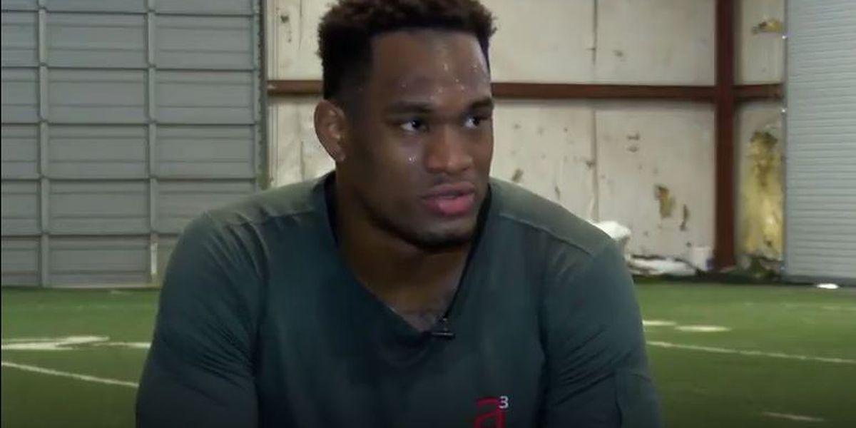 Former Alabama linebacker prepares for NFL Combine