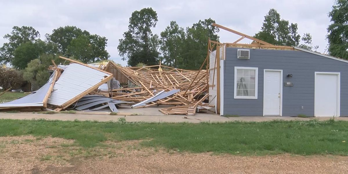 EF1 tornado causes destruction in Millbrook