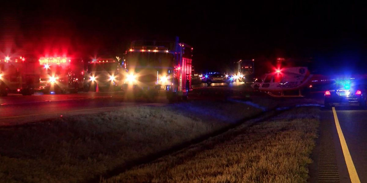 Lanes of Selma Highway reopen at Mitchell Young Road after crash