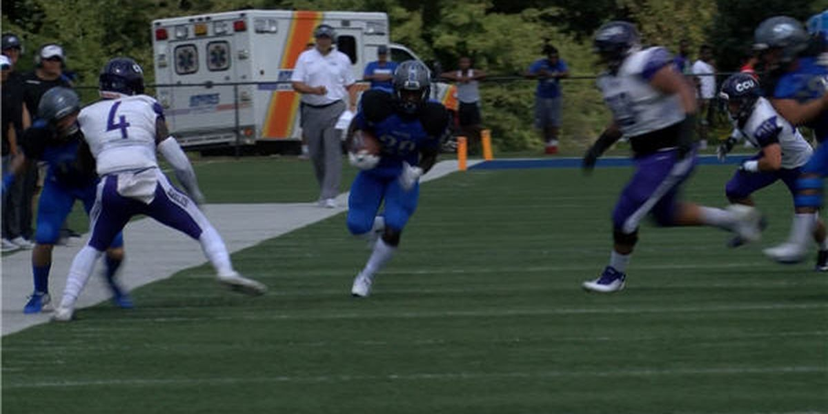 Faulkner looks towards Ave Maria after setting school record