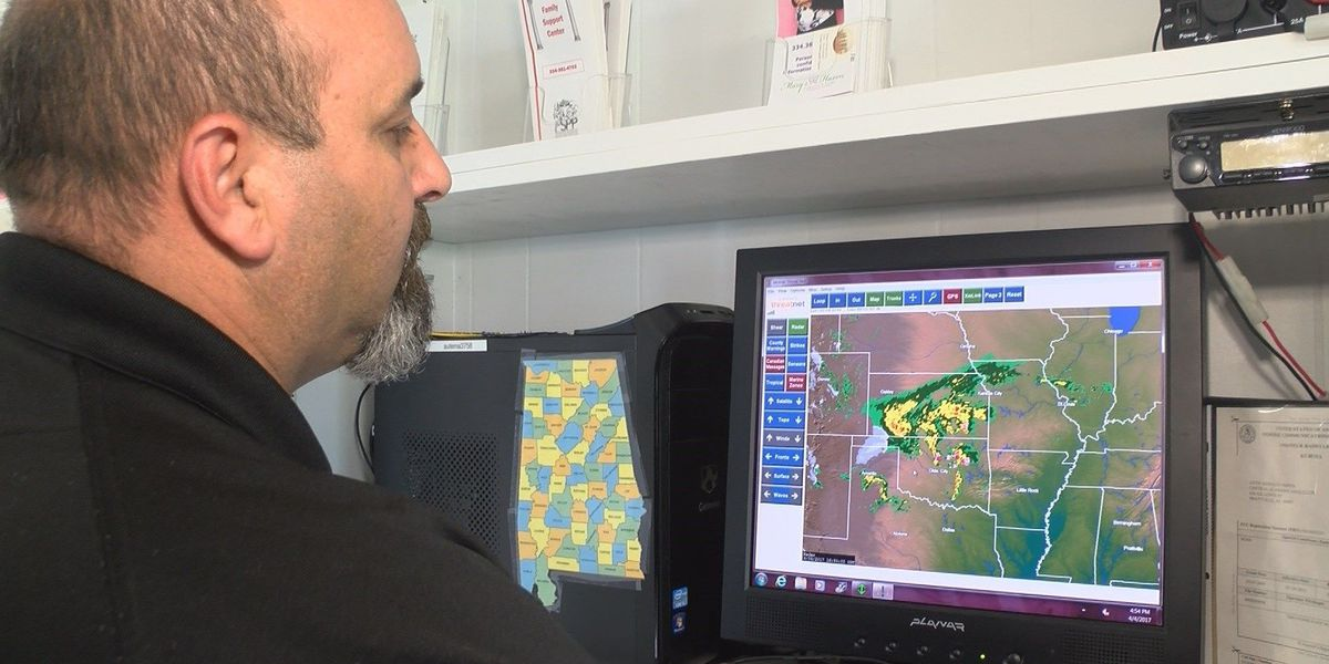 AL EMA offices in communication mode ahead of Wednesday storms