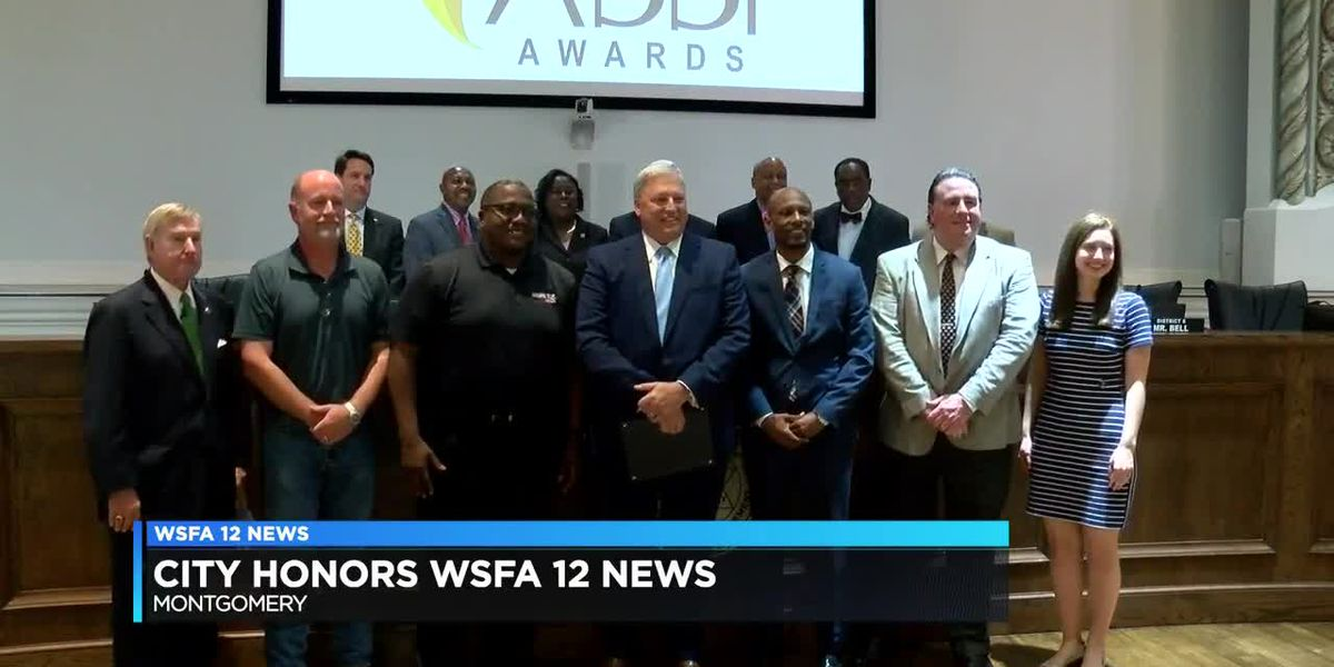 WSFA recognized by Montgomery City Council after being named Station of the Year