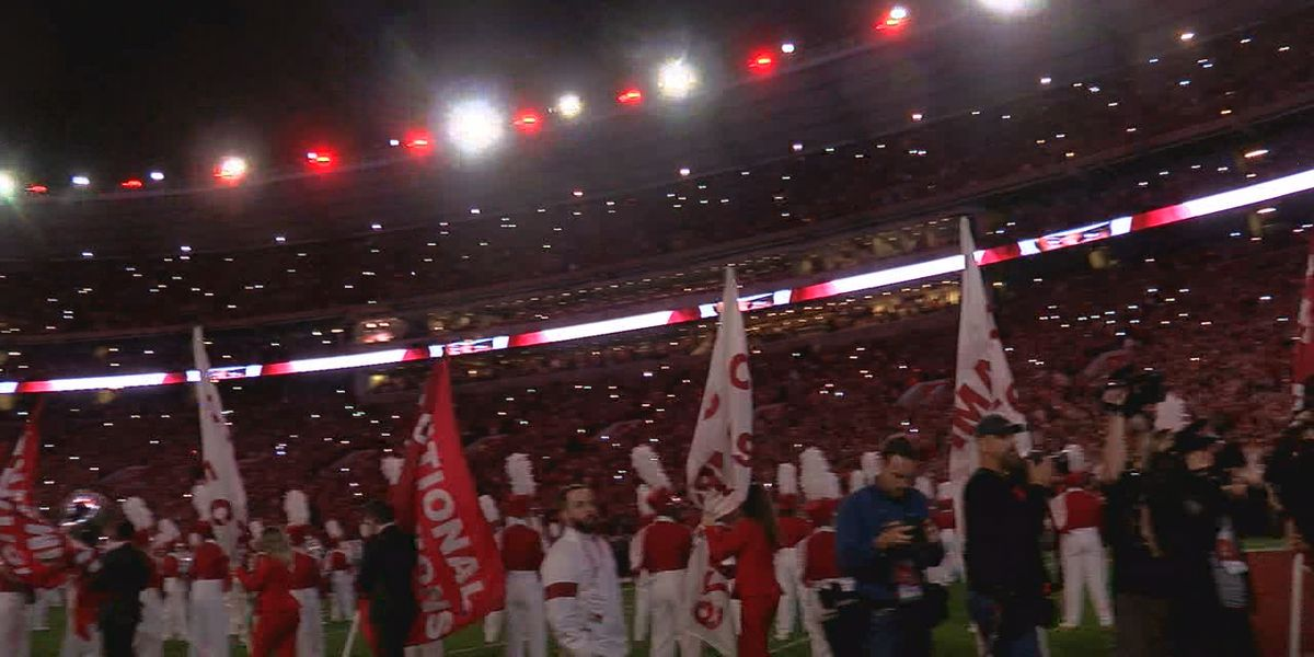 Watch! Alabama's new lights at Bryant-Denny Stadium
