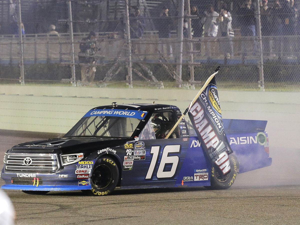 Moffitt and underdog race team win Truck Series title