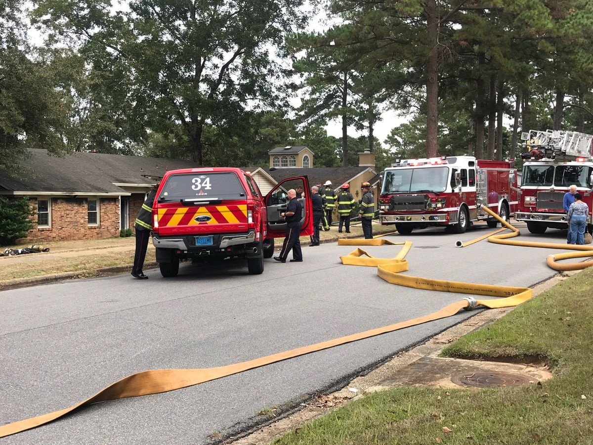 House fire extinguished on Meridian Lane