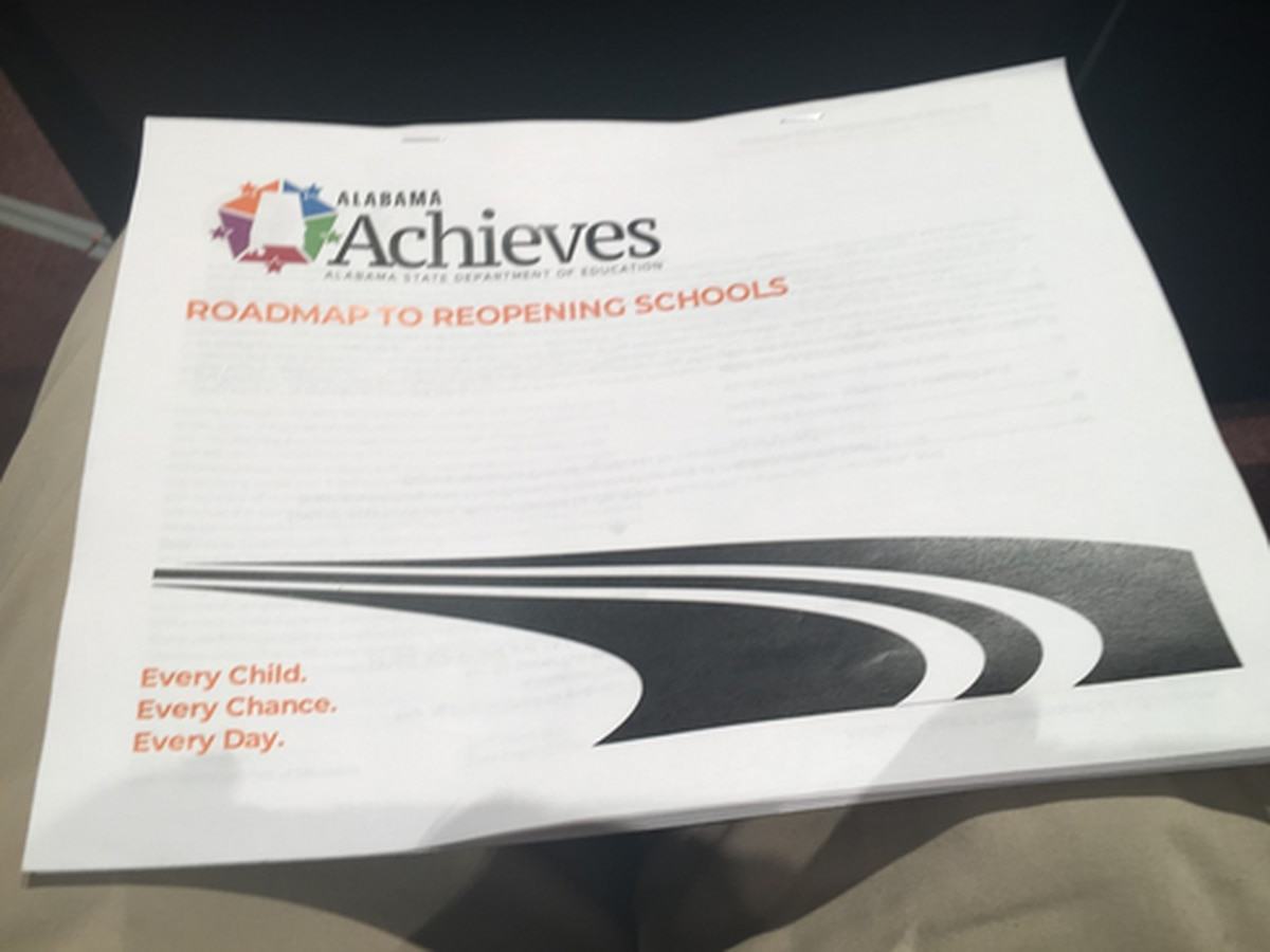 'Roadmap to Reopening Alabama Schools' plan announced