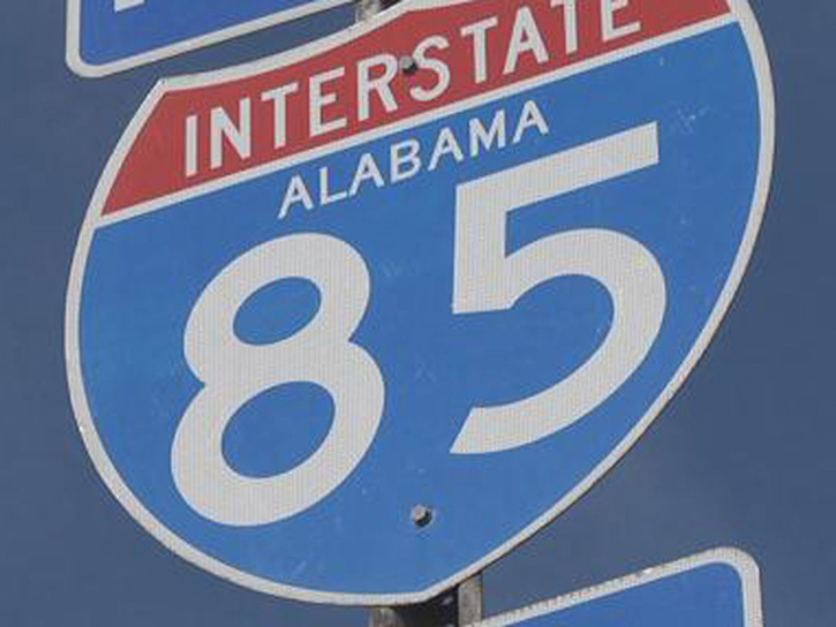 I-85 NB closed in Macon County due to vehicle fire