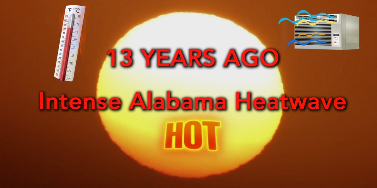 Exactly 13 years ago we were in the midst of arguably Montgomery's worst heat wave