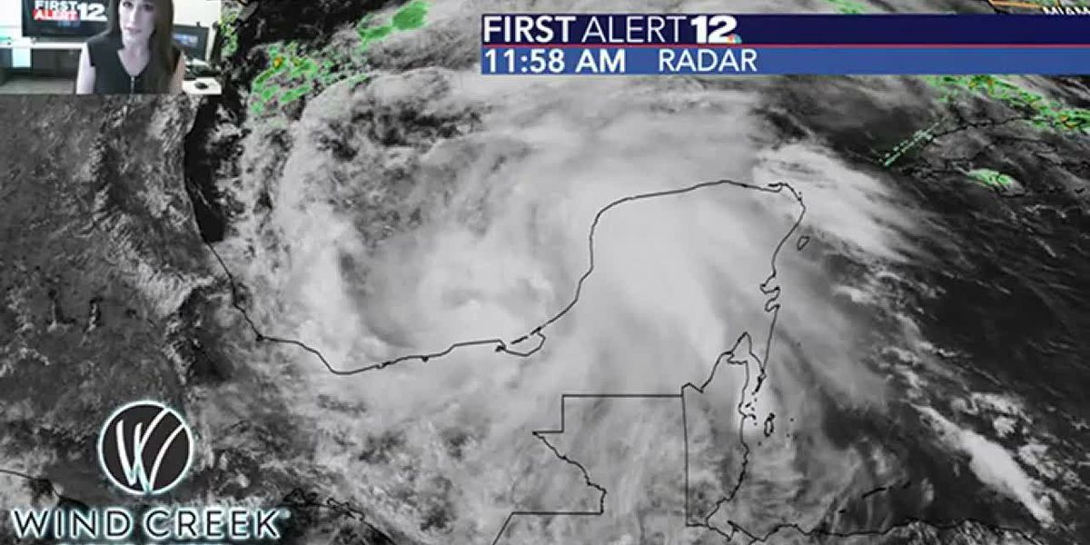 Tropical Depression 3 strengthens into Tropical Storm Cristobal!