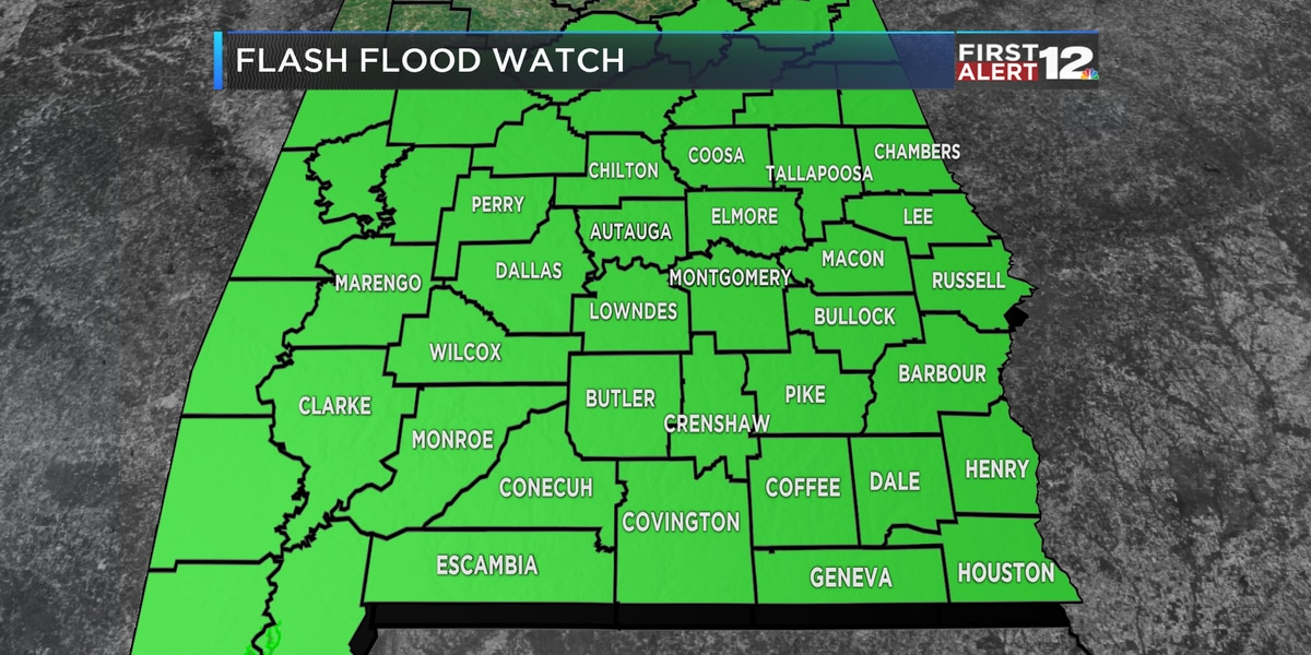 First Alert: Widespread rain to continue overnight