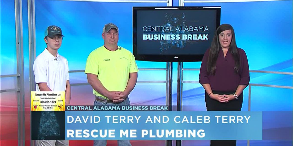 Central Alabama Business Break- Rescue Me Plumbing