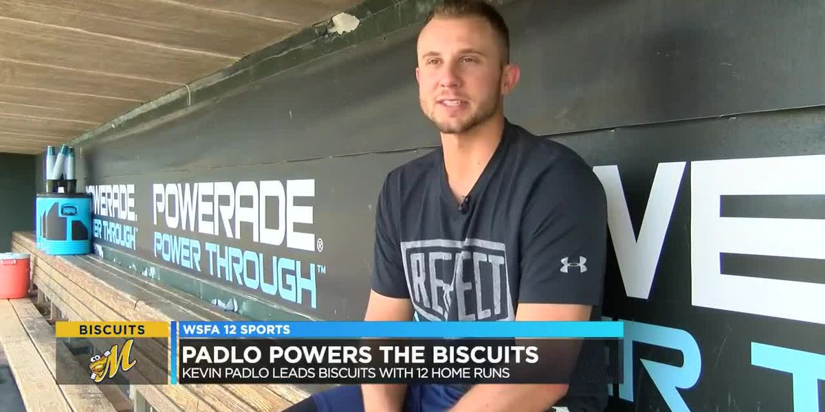 Kevin Padlo leads Biscuits with 12 home runs