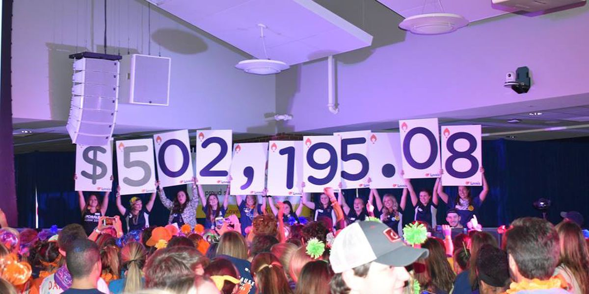 Auburn University raises more than $500K for Children's Miracle Network with dance marathon
