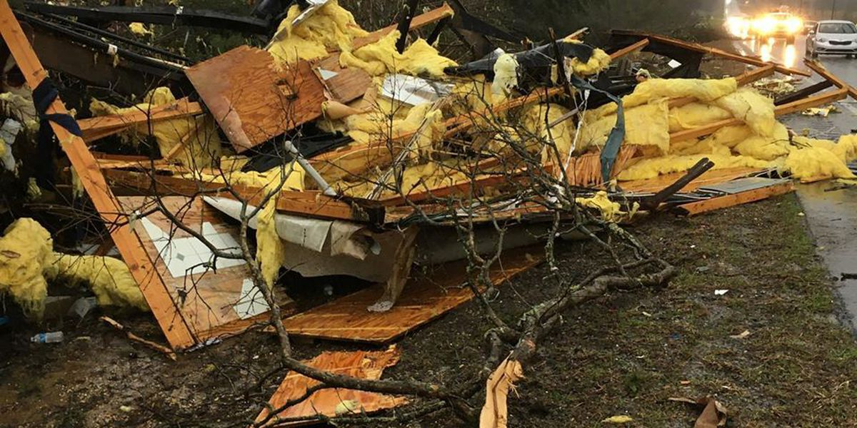 Storms, flooding sweep over Deep South; several dead