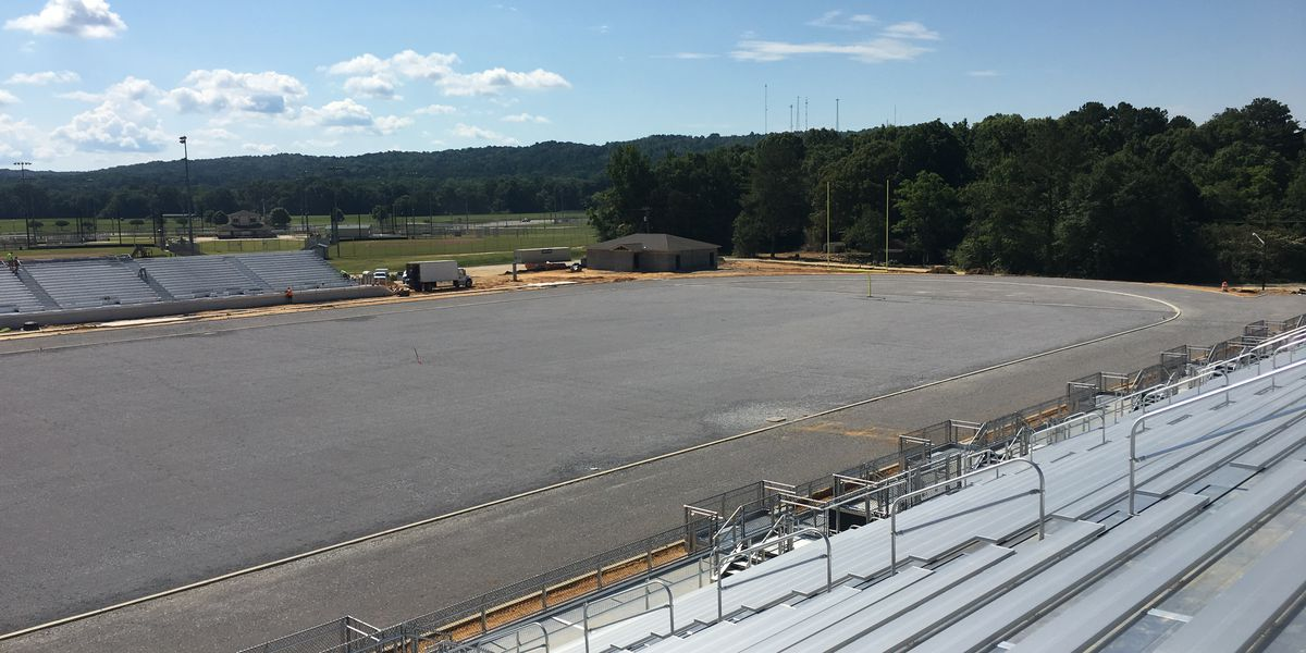 Completion of new Wetumpka HS football stadium ahead of schedule