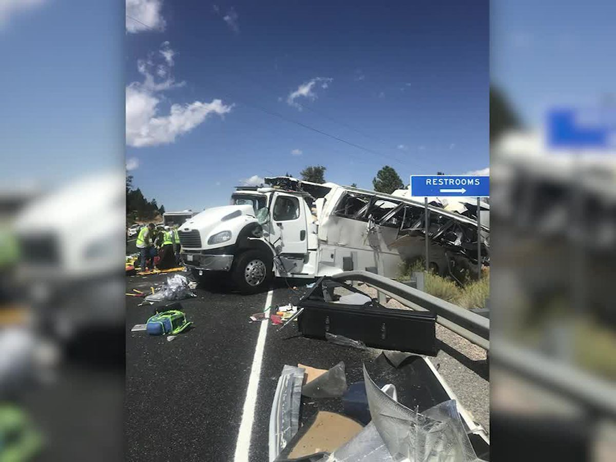 Bus with Chinese-speaking tourists crashes in Utah; 4 dead
