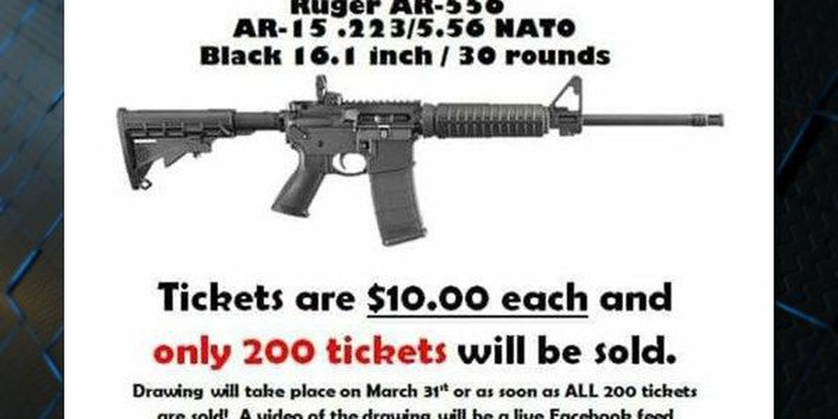 Rifle raffles' popular in Alabama, but are they legal?