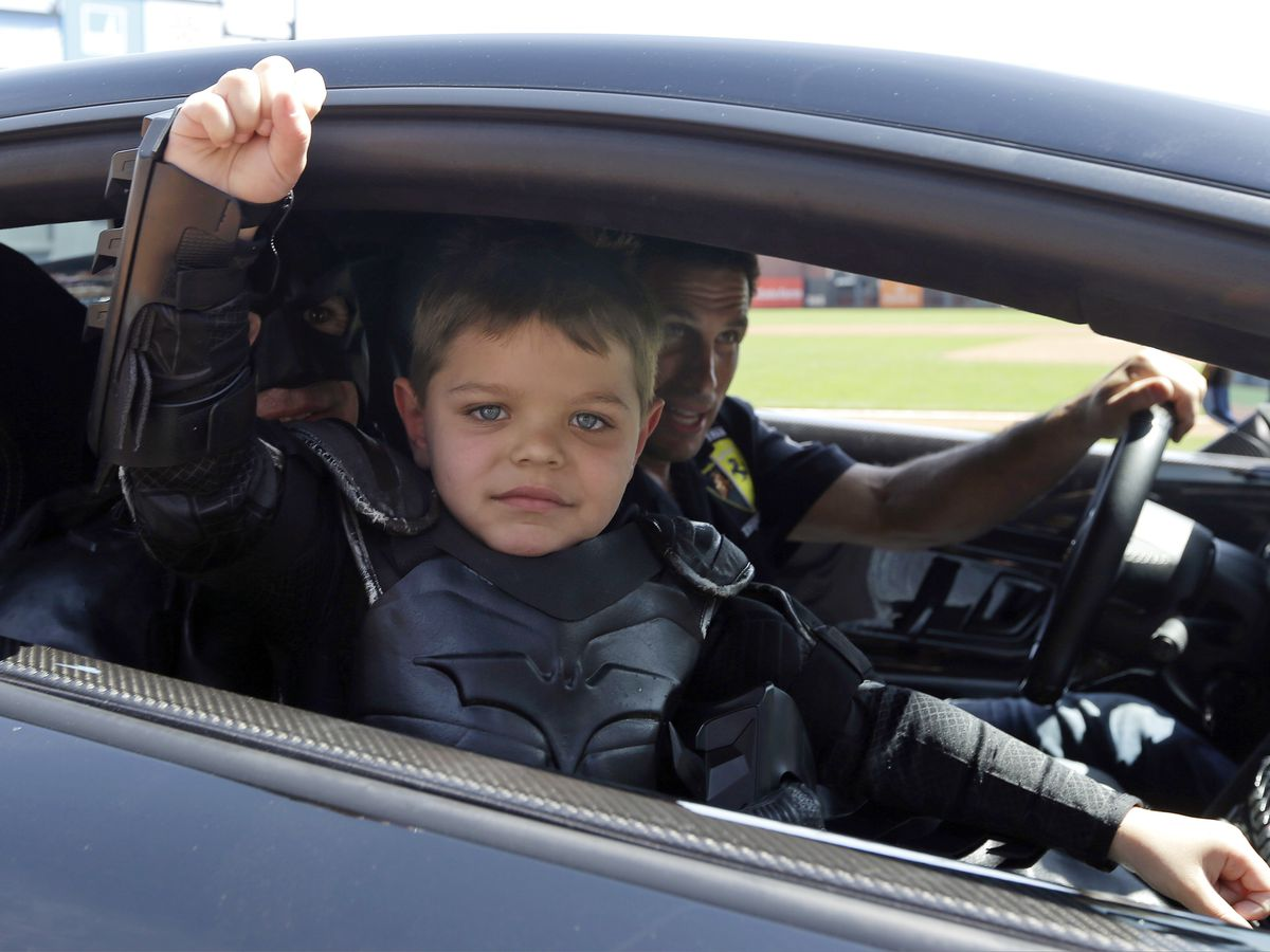 Batkid Miles Scott is healthy and thriving now cancer-free